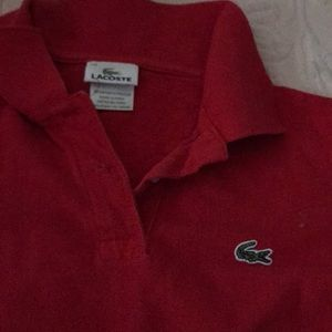 Lacoste red !